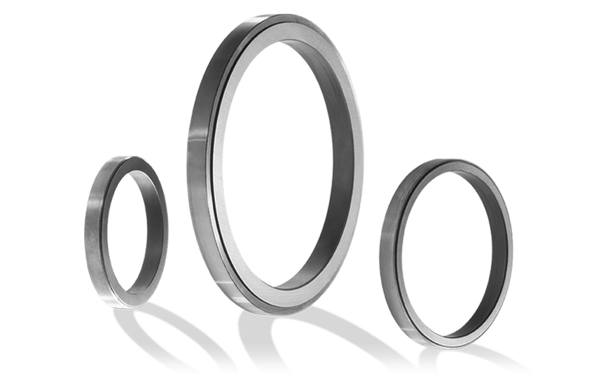 Metal Clad Carbon Rings
