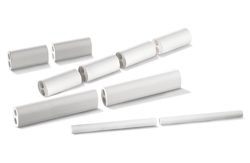 Thermal Element Protective Tubes, Small Insulating Tubes and Multi-hole Rods