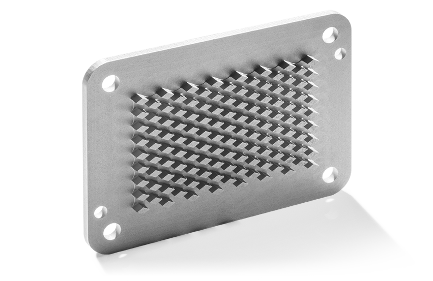 Base Plates and Coolers made of Aluminium Graphite