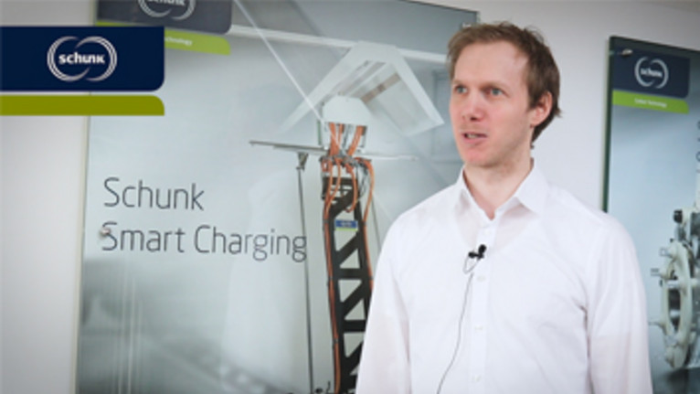 Schunk Smart Charging - Interview with Product Manager Timo Staubach