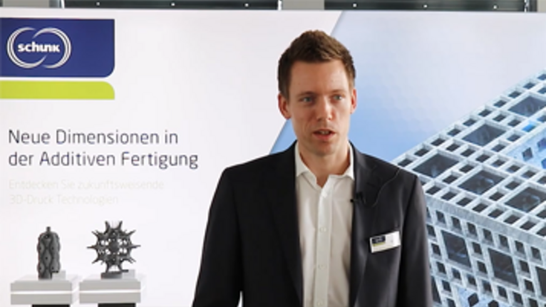 Schunk IntrinSiC® process for 3D printing - Interview with Development Engineer Philipp Gingter
