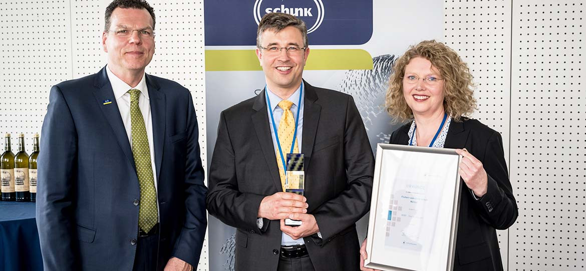 Schunk Group supports MINT subjects for the second time with sponsorship award