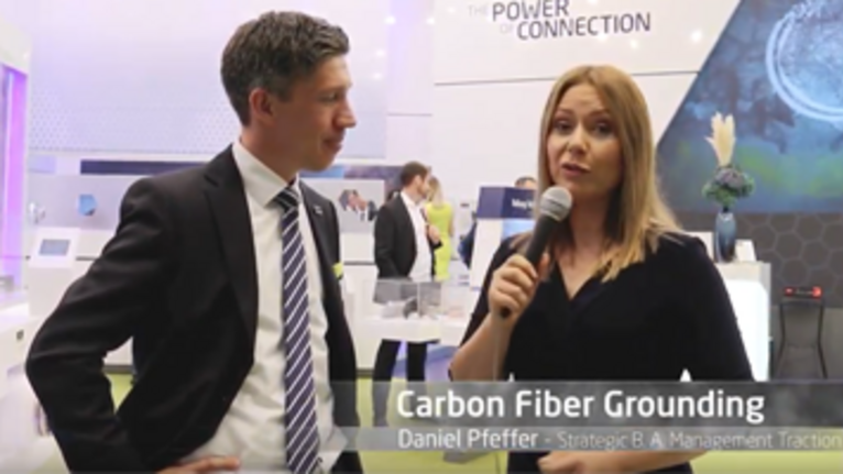 Carbon Fiber Grounding for Railway Applications - Interview with SBA Manager Daniel Pfeffer
