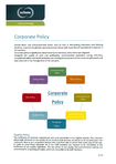 Download: Corporate Policy